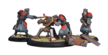 Khador Winter Guard Field Gun Crew (3)